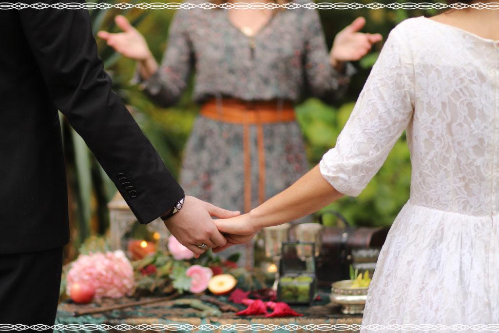photo de ceremonie laique et mariage paien